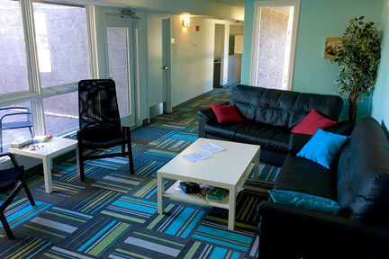 Aurora Recovery Centre comfortable rooms