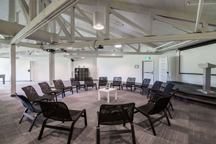 Aurora Recovery Centre meeting room