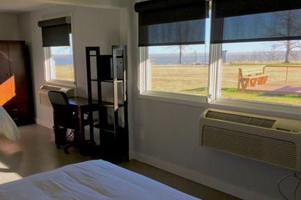 Aurora Recovery Centre semi-private rooms, lake views